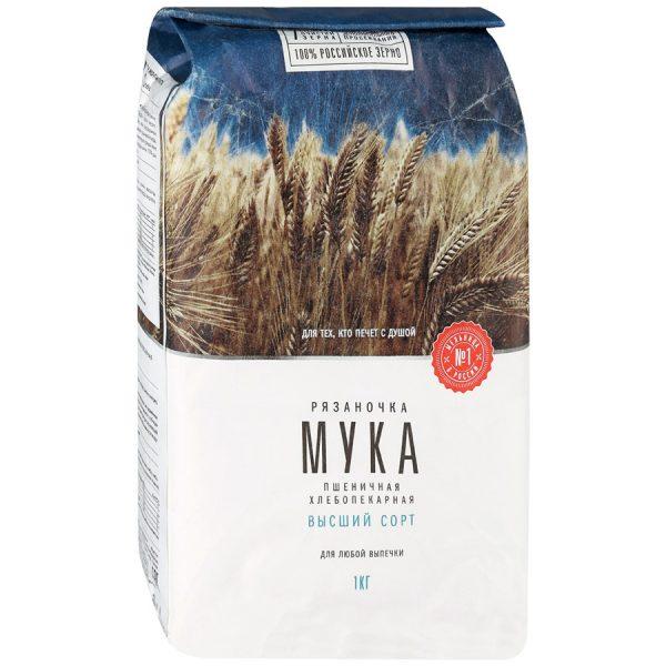 Мука пшеничная хлебопекарная высший сорт Рязаночка — отзывы