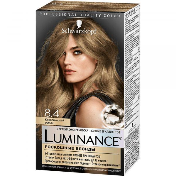 Краска для волос Schwarzkopf Luminance — отзывы