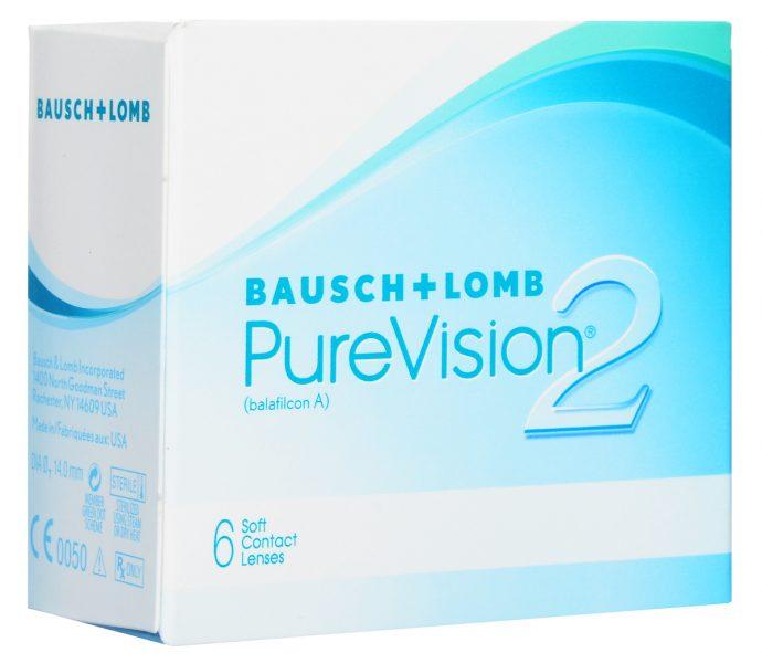 Контактные линзы Bausch&Lomb Pure Vision 2 — отзывы