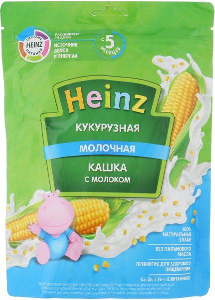 Кукурузная кашка с молоком Heinz — отзывы