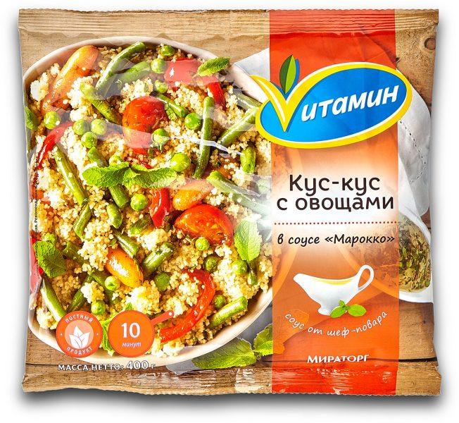 Кус-кус с овощами в соусе Vитамин Марокко — отзывы