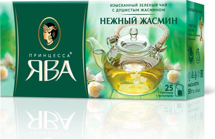 Зеленый чай Принцесса Ява Нежный жасмин — отзывы