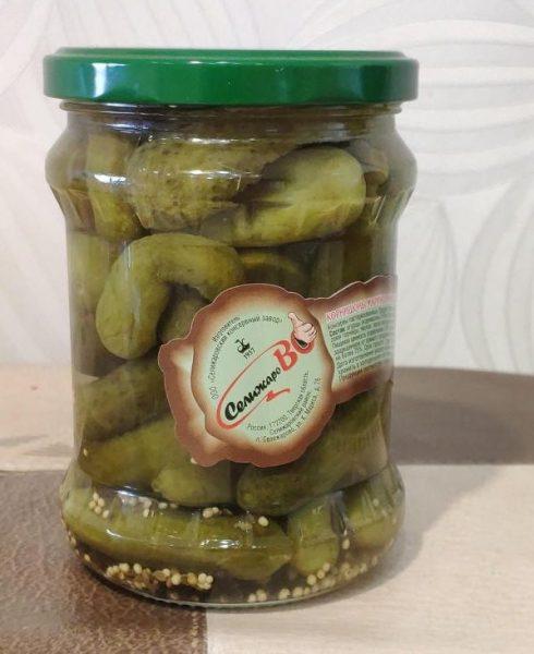 Корнишоны маринованные деликатесные СелижароВО — отзывы