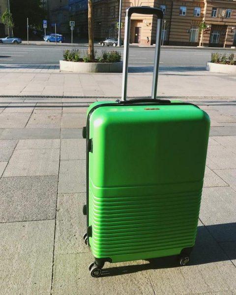 Пластиковые чемоданы The Bag — отзывы