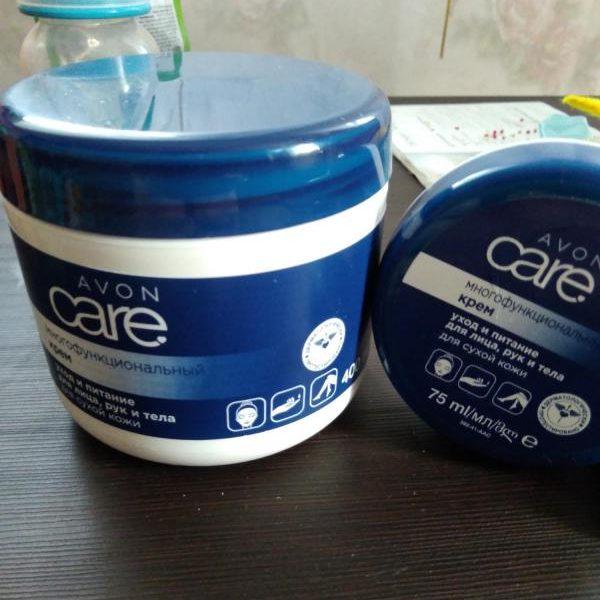 Многофункциональный крем Avon Care уход и питание для лица, рук и тела для сухой кожи — отзывы