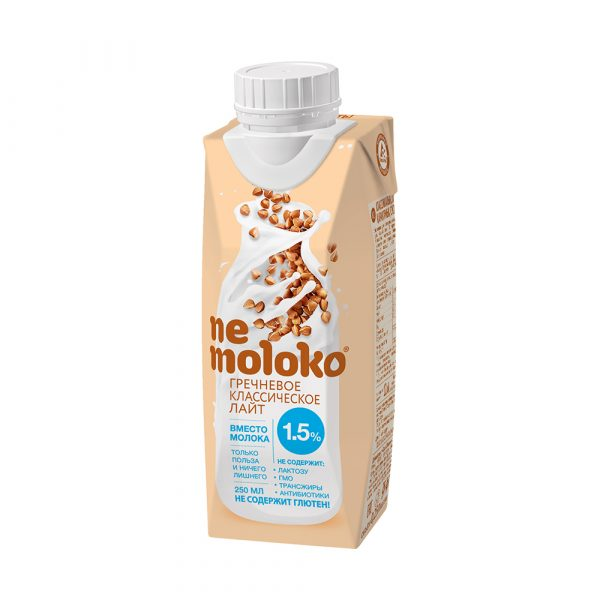 Напиток Nemoloko гречневое классическое лайт — отзывы