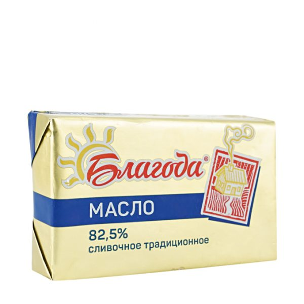 Масло Благода сливочное традиционное 82,5% — отзывы