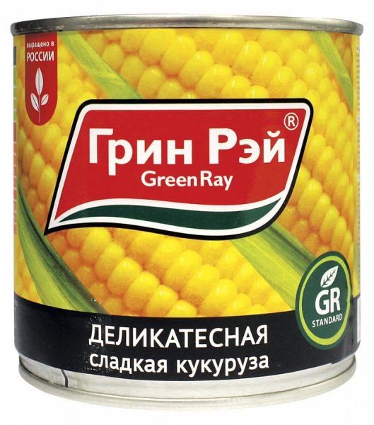 Консервированная кукуруза Гринн Рэй деликатесная сладкая — отзывы
