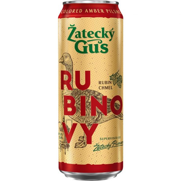 Пиво Zatecky Gus Rubinovy — отзывы