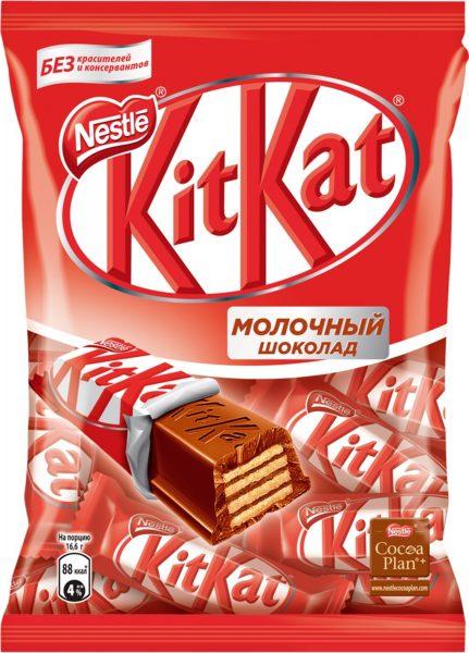 Конфеты Nestle KitKat Молочный шоколад — отзывы