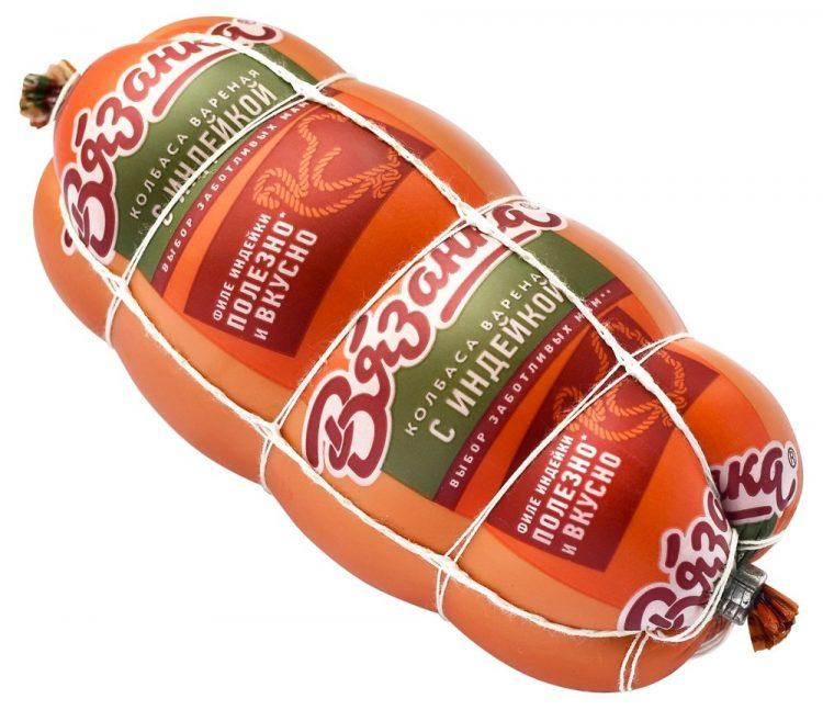 Колбаса вареная Стародворские колбасы Вязанка с индейкой — отзывы