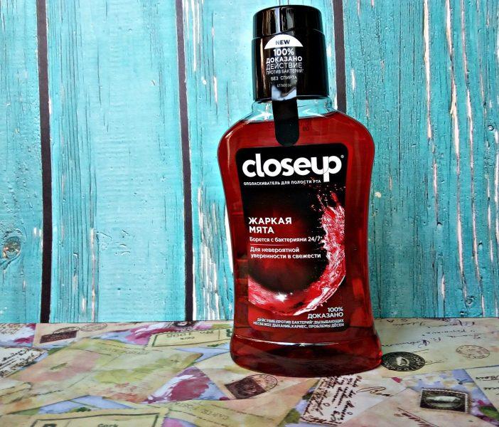 Ополаскиватель для полости рта CloseUp Жаркая мята — отзывы