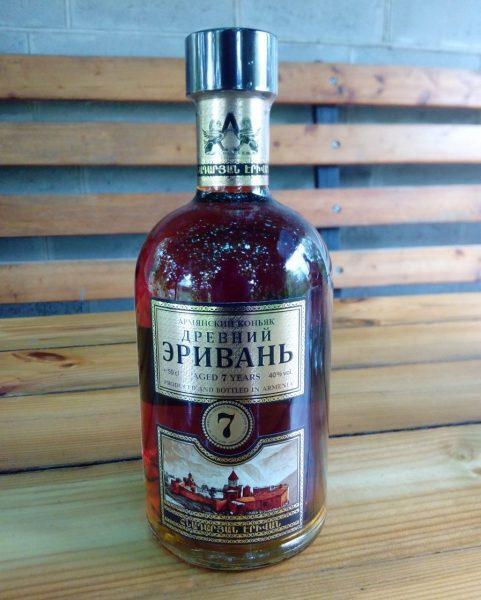 Коньяк армянский Авшарский винный завод Древний Эривань 7 лет — отзывы