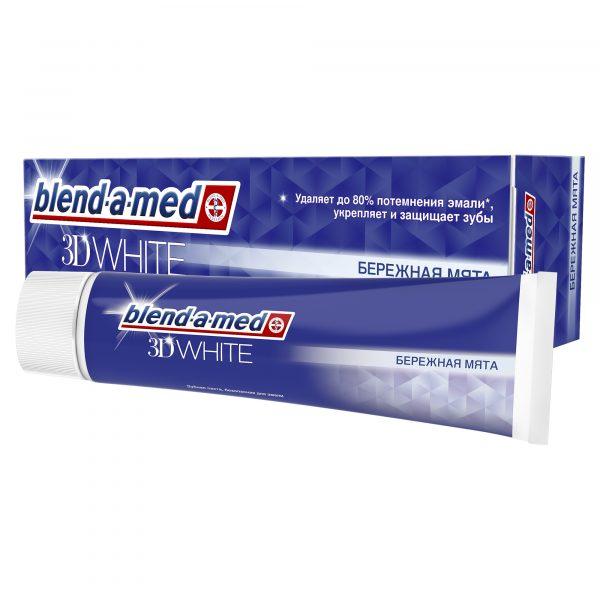 Зубная паста Blend-a-med 3D White Бережная мята — отзывы