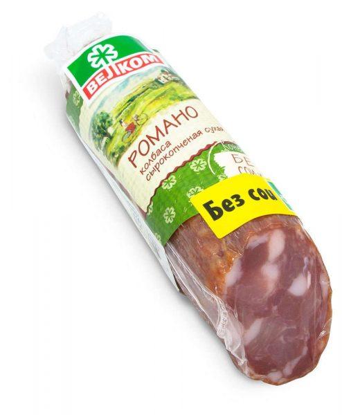 Колбаса сыровяленая Велком Романо — отзывы