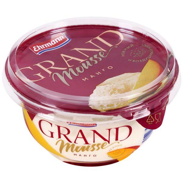 Мусс молочный Ehrmann Grand Mousse — отзывы