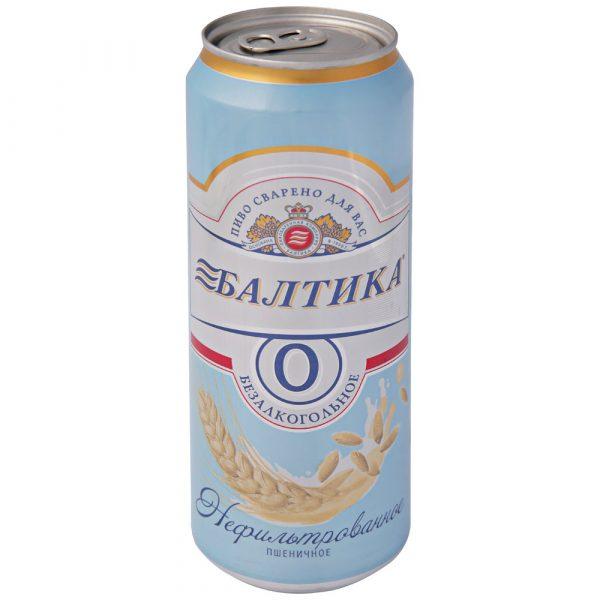 Пиво Балтика 0 Нефильтрованное пшеничное — отзывы