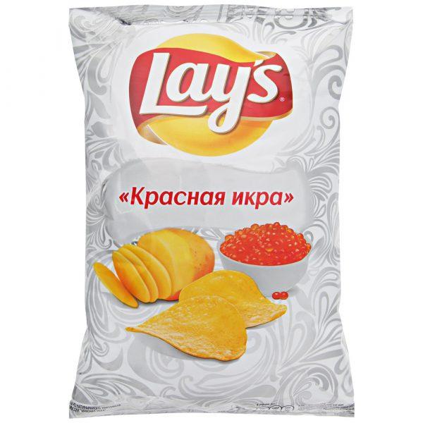 Картофельные чипсы Lays Красная икра — отзывы
