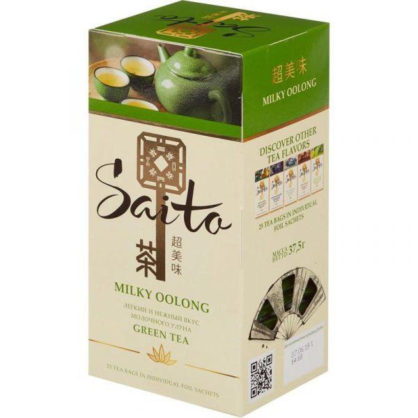 Зеленый чай Saito — отзывы