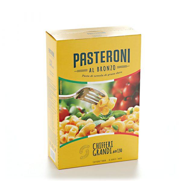 Макаронные изделия Pasteroni Chifferi Grandi №130 — отзывы