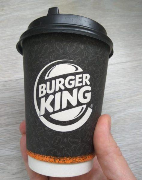 Кофе Бургер Кинг Капучино — отзывы