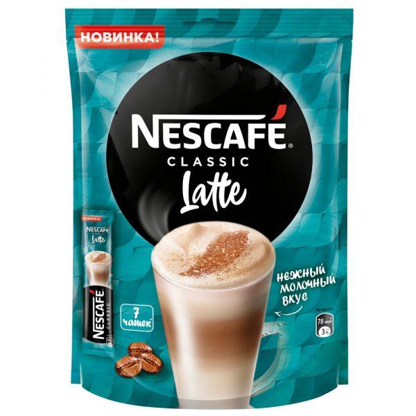 Кофе Nescafe Latte 3 in 1 — отзывы