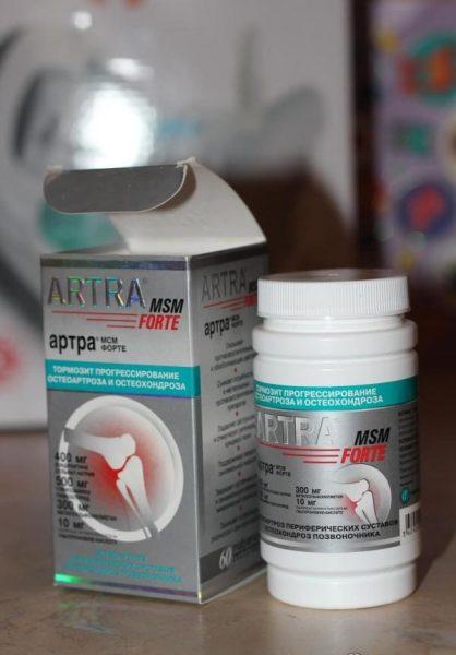Лекарственный препарат Unipharm Артра — отзывы