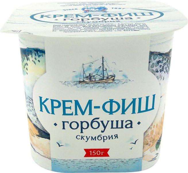 Паста рыбная Европром Крем-Фиш горбуша-скумбрия — отзывы