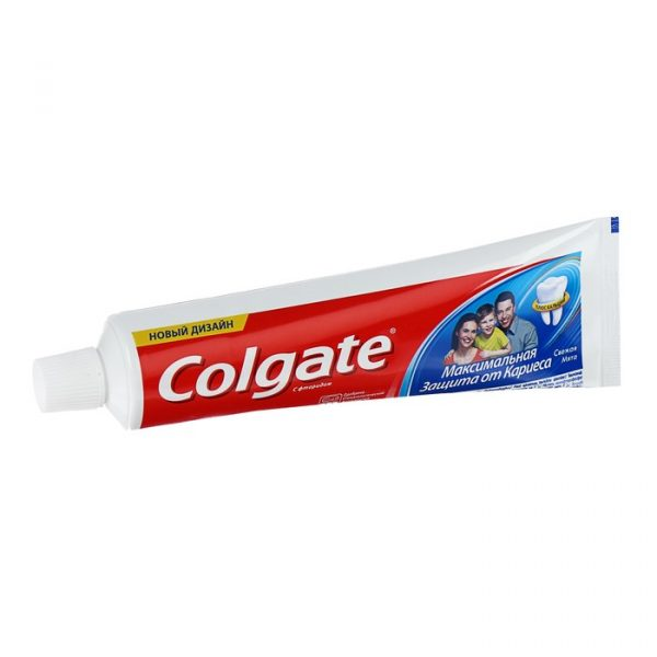 Зубная паста Colgate Максимальная защита от кариеса с фторидом — отзывы