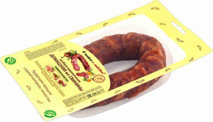 Колбаса сырокопченая Иней Домашняя из свинины — отзывы