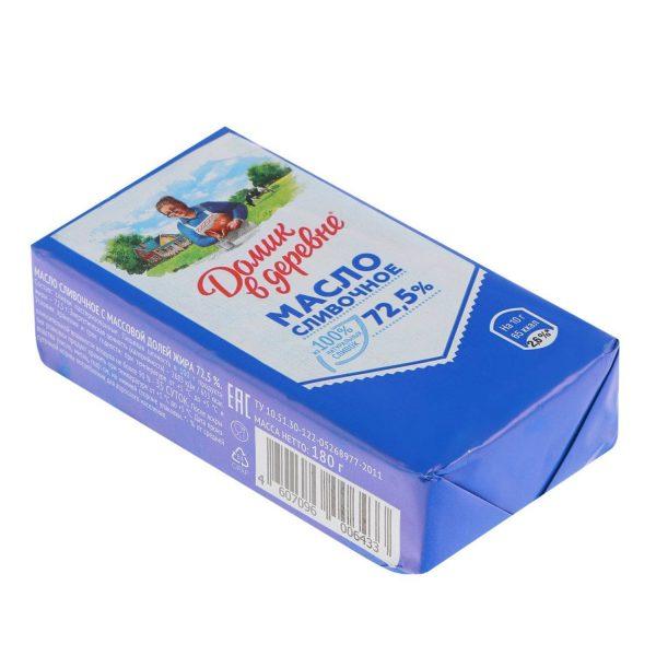 Масло сливочное Домик в деревне 72,5% — отзывы