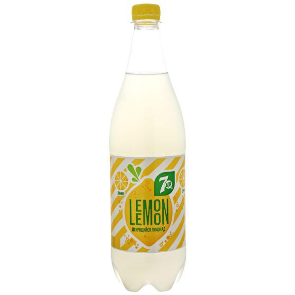 Напиток безалкогольный 7-UP искрящийся лимонад Lemon — отзывы