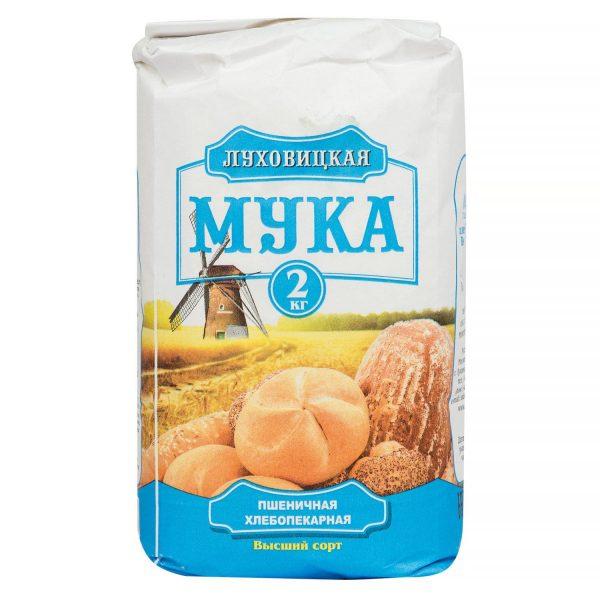 Мука пшеничная Луховицкая — отзывы