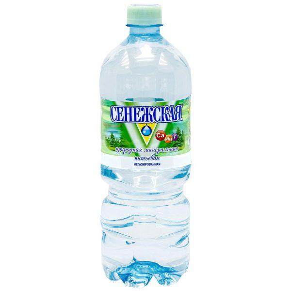 Минеральная вода негазированная Сенежская — отзывы