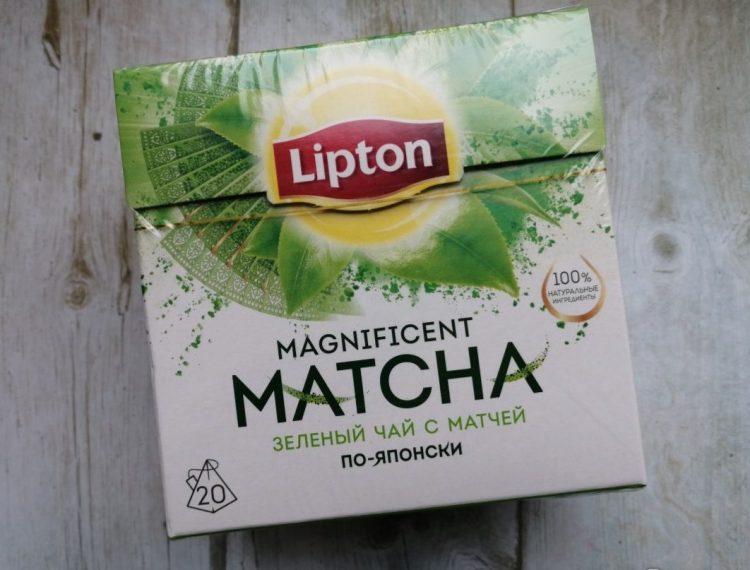 Зеленый чай Lipton Magnificent Matcha — отзывы