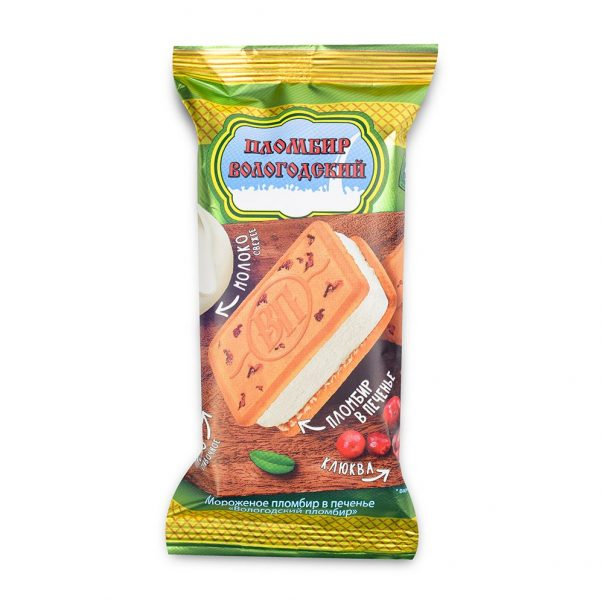 Мороженое пломбир в печенье Вологодский пломбир — отзывы