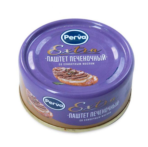 Паштет печеночный со сливочным маслом Perva Extra — отзывы