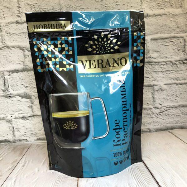 Кофе Verano растворимый с добавлением молотого — отзывы