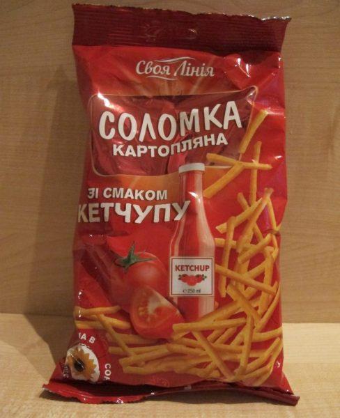 Картофельная соломка Своя линия — отзывы