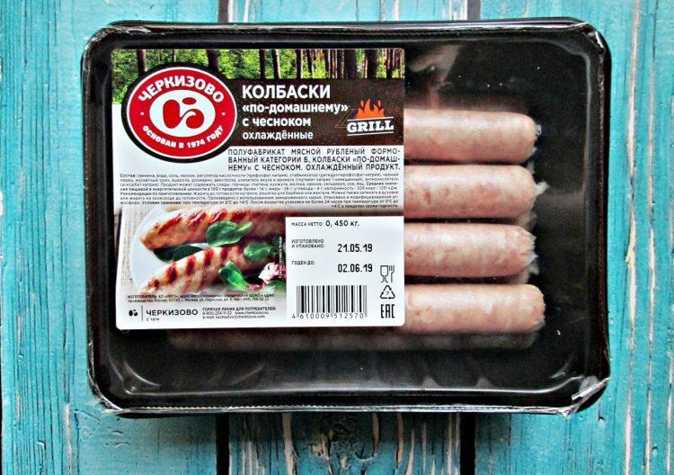 Колбаски Черкизово По-домашнему с чесноком — отзывы