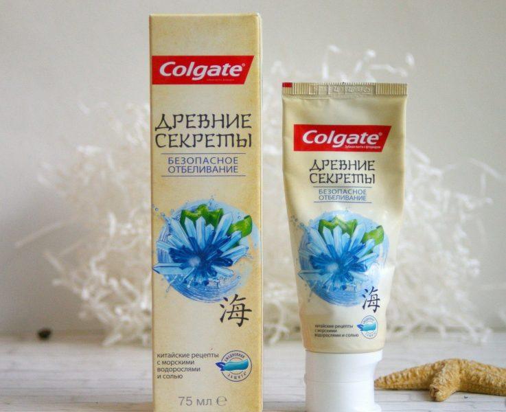 Зубная паста Colgate Древние секреты Безопасное отбеливание — отзывы