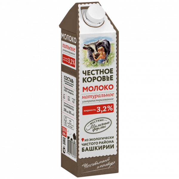 Молоко Честное коровье молоко — отзывы