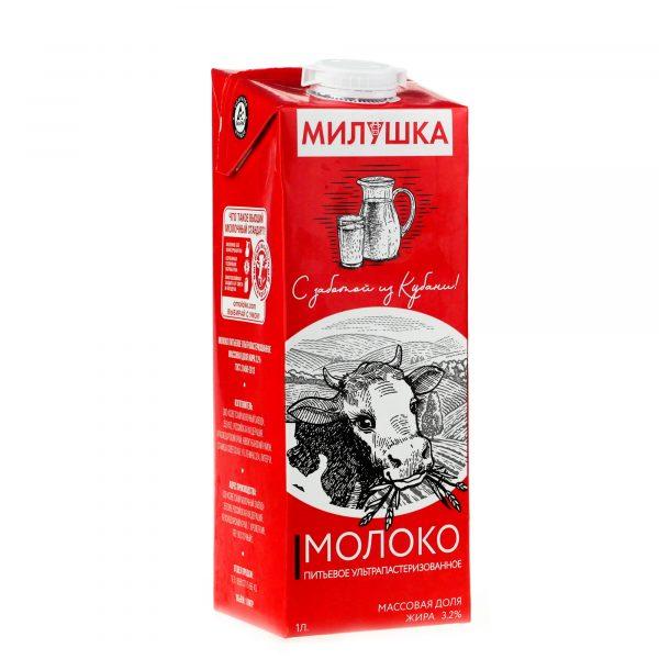 Молоко питьевое ультрапастеризованное Советский молочный завод Милушка 3.2% — отзывы