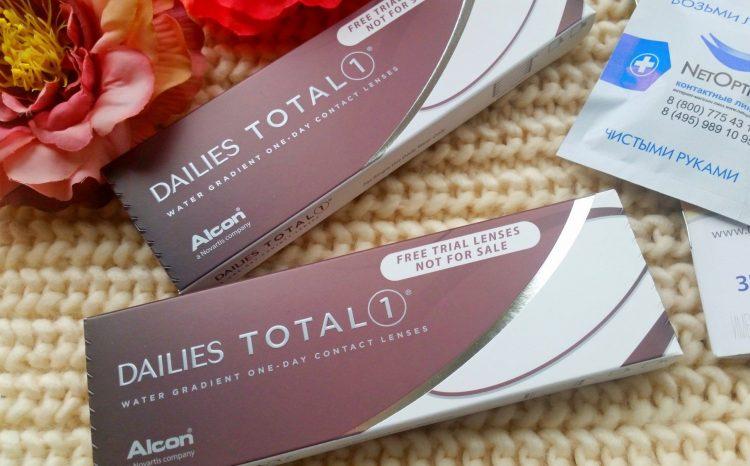 Однодневные контактные линзы Alcon Dailies Total 1 — отзывы