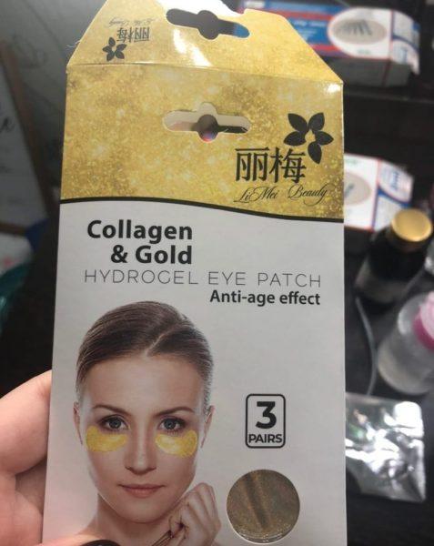 Патчи гидрогелевые для кожи вокруг глаз LiMei Beauty Collagen&Gold — отзывы