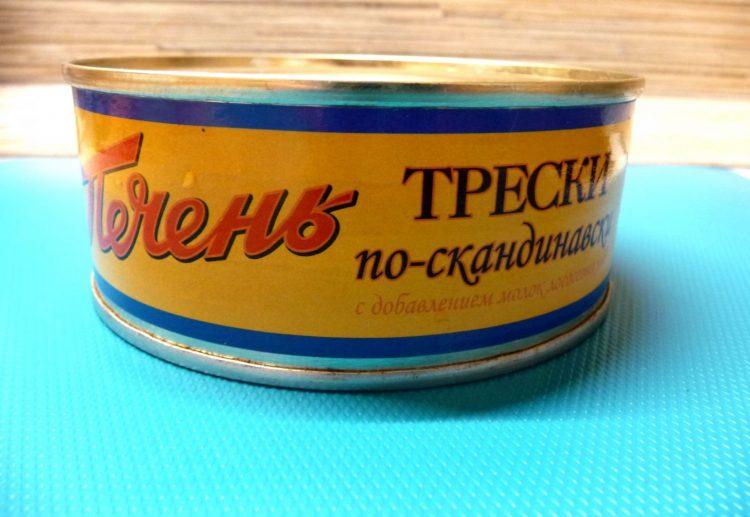 Консервы Морской котик Печень трески по-скандинавски — отзывы