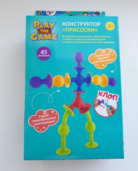 Конструктор Play the Game Присоски — отзывы