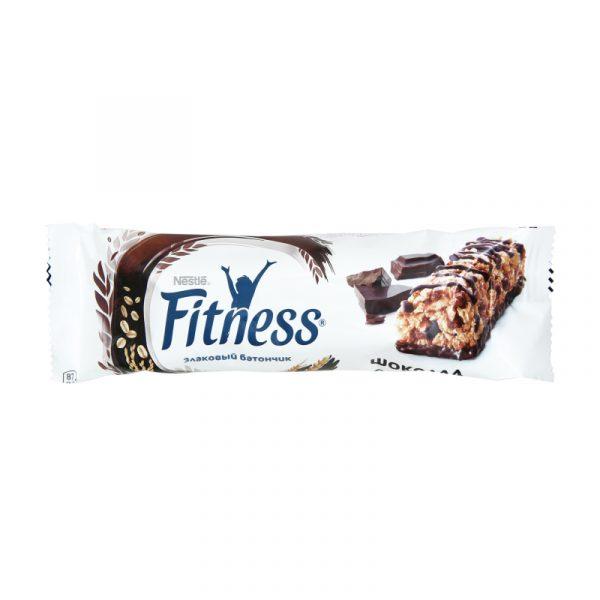 Злаковый батончик Nestle Fitness с шоколадом — отзывы