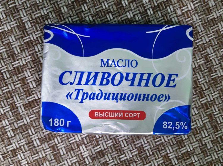Масло сливочное Сигмахолод Традиционное 82,5 % — отзывы