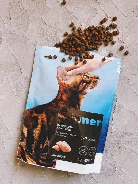 Корм для кошек Мираторг Winner — отзывы